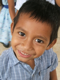 Even with the chicken pox Fernandito was so full of joy it spilled over and made everyone around him smile.