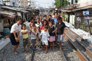 Children at the Dian Bersinar Foundation in Medan, Indonesia