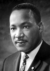 Martin Luther King, Jr. ( source: novel prize.org)