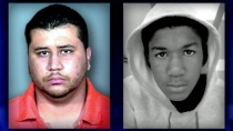 George Zimmerman and Trayvon Martin (source: tlcnaptown.com)